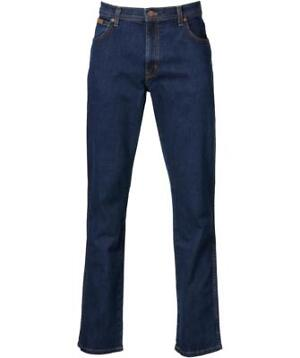Wrangler 5-pocket Jeans Texas Stretch Blauw - 34-36