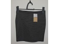 Stripped Skirt. New with tags.Brand: pull & bear