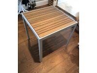 Brand new garden patio table