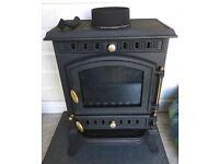 Multi fuel log burner