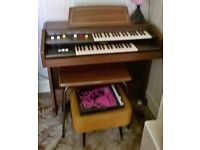 Hammond Organ for sale. With pedals and stool.