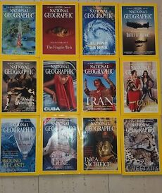 National Geographic Magazines YEAR 1999 - 12 Issues