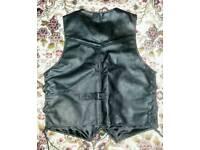 Small leather waist coat