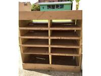 Shelving / racking for van or shed