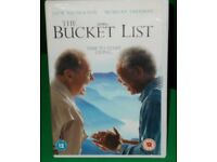 THE BUCKET LIST DVD - COMEDY WITH JACK NICHOLSON AND MORGAN FREEMAN