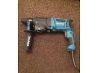 Makita 240 volt SDS drill