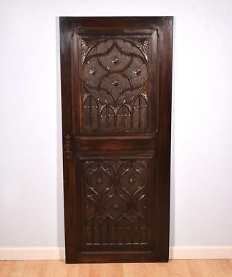 Antique French Gothic Revival Panel/Door in Solid Walnut for sale  Beaverton