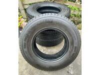 4 Michelin Agilis Camping Tyres 225/75 r16