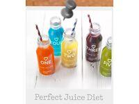 Juice detox- bottled juices for 2.5 days including 3x night tea bags