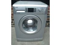Silver Beko 7kg, 1400rpm Washing Machine, 3 months guarantee