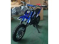Mini Dirt Bike 50cc pull start great little bike. FREE DELIVERY