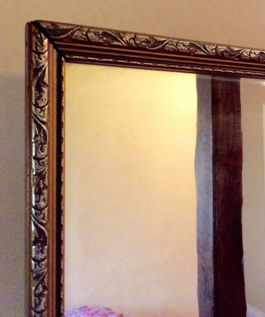 Long Framed Mirror 48 X 16 In Maidstone Kent Gumtree