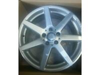 "7 spoke 18"" genuine Mercedes Amg Alloy wheels"