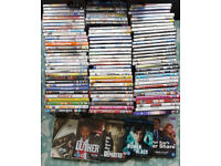 100 New & Sealed DVDs. All genuine, no replays inc some seasons etc BARGAIN