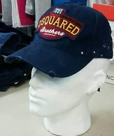D squared & armani caps brand new