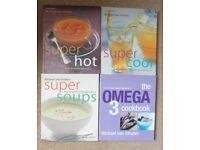 4 Michael van Straten Cookery Books