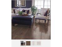 15 Box of Overture Virginia Oak effect laminate flooring 1.25m2/ pack 12mm.