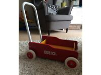 Brio Toddler Walker Wobbler red/yellow
