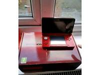 Metallic red Nintendo 3da