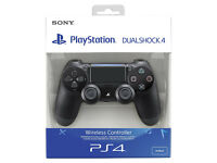 BRAND NEW Sony Dual Shock 4 V2 Controller (BLACK) for PlayStation 4 PS4