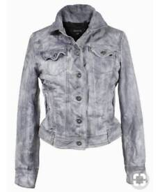 Muubaa lamb leather jacket size 8! V soft!