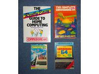 4 x Commodore 64 books FOR SALE - C64 - 1980's Micro Computer Retro
