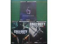 Resident Evil 6, Call Of Duty: Black Ops & Call Of Duty: Black Ops 2 strategy guides