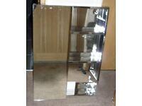 John Lewis Double Mirrored Bathroom Cabinet ex-display missing 1 door - RRP when new £150