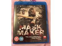 Mask Maker Horror Movie Blu Ray Brand New