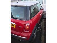Mini Cooper spares and repairs