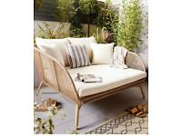 Garden comfy Snug chair/ egg chair style new in box/ with cushions