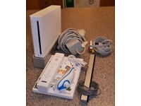 Nintendo Wii console with Wii play