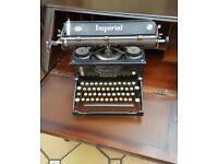 Retro display typewriter