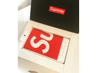 Brand New Boxed Red and White Supreme Mophie