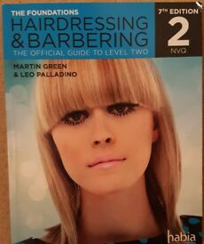Barbering Hairdressing book for sale!