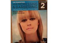 Barbering Hairdressing book for sale!