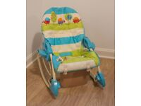 Fisher-Price Smart Stages 3-in-1 Swing n Rocker Baby Swing