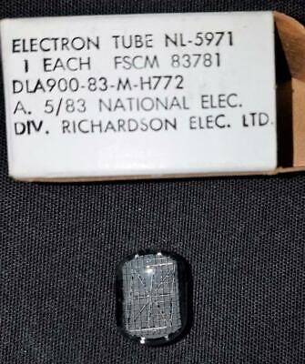 NL5971, B5971,B-5971 Alphanumeric Nixie Tube 1 EA., NOS/NIB, MOD-SIX Clock