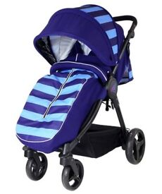 Great pushchair, smart and sturdy! Only used for 2 weeks when grandson visited UK from Aus.