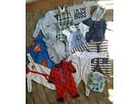 22 items newborn/0-3 months clothes