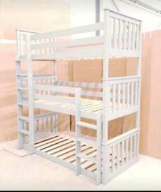Brand New 3 Tier Heavy Duty Bunk Bed