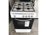 ROYALE White Very Nice Fully Gas Cooker 50cm wide & Fully Working Order