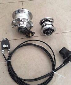 Rohloff speedhub 14 gears & FREE shimano dynamo hub!!! PayPal accepted.