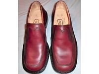 VINTAGE SAVILLE ROW MENS BROWN SHOES/STYLE 701 - SIZE UK 7.5/EU 41 - NEW + BOXED