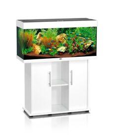 Juwel Rio 180 litre Aquarium Fish tank + Eheim External Filter + Heater + Gravel