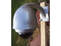 CCTV camera 27x optical zoom BNC fitment with power supply