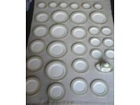 Royal Doulton English Fine Bone China Plate, Side Plate and Saucer Lot