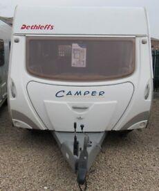 DETHLEFFS CAMPER 550 L 2006 *FIXED BED* 4 BERTH CARAVAN