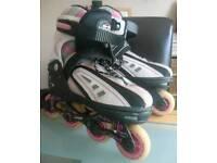 Size Adjustable 3-6 SFR Vortex Girls/Ladies In Line Roller Skates