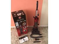 HOOVER Velocity VL81VL01 Upright Bagless Vacuum Cleaner -Grey&Red